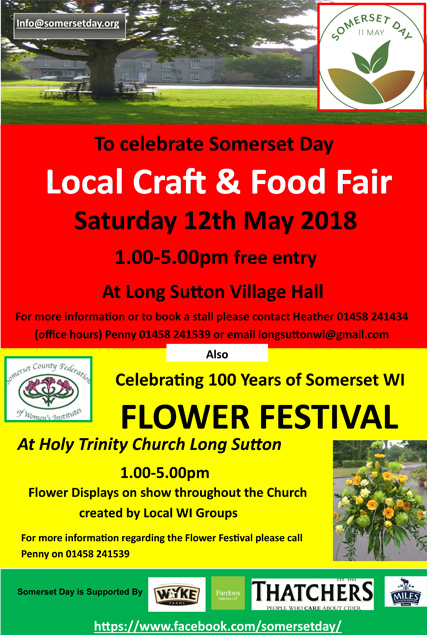 Somerset Day Poster